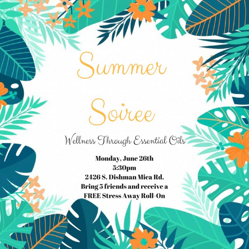 Summer Soiree: Wellness Through Essential Oil