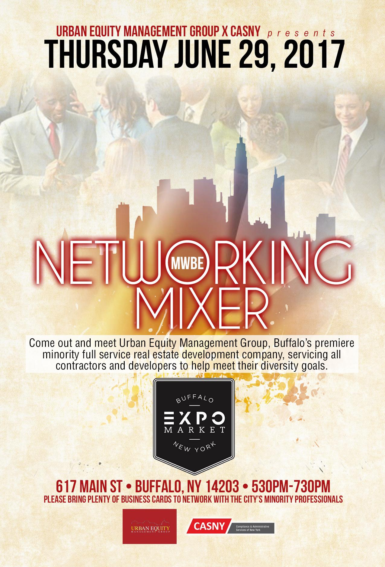 UEMG & CASNY MWBE Networking Event