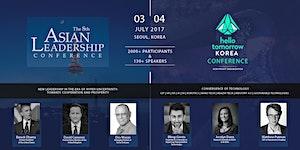 Hello Tomorrow Korea x Asian Leadership Conference 2017