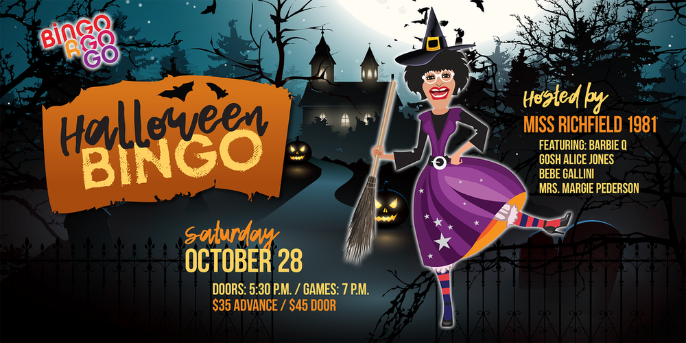 tcgmc clare housing present halloween bingo tickets - Minneapolis Halloween Events