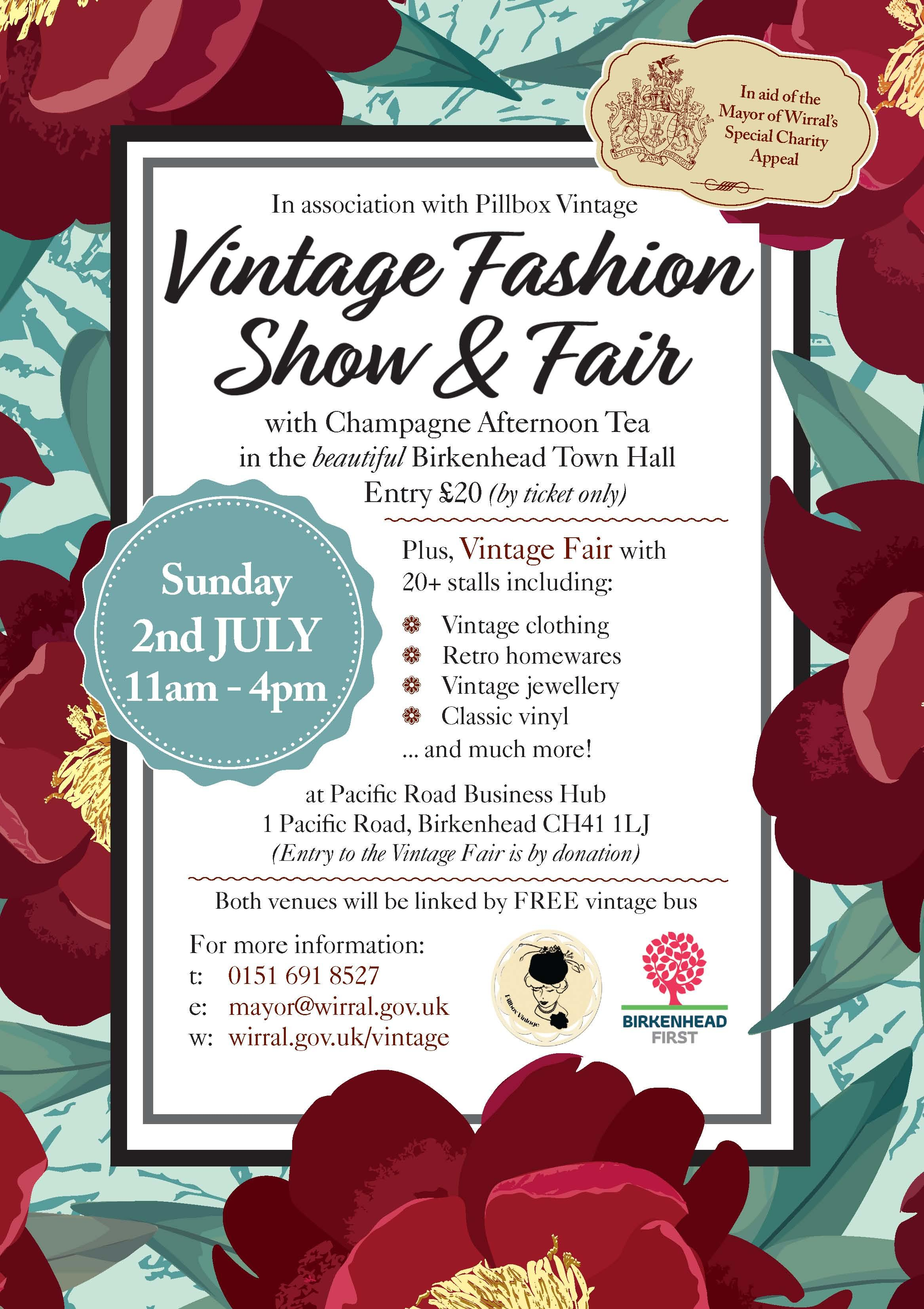 Vintage Fashion Show and Afternoon Tea
