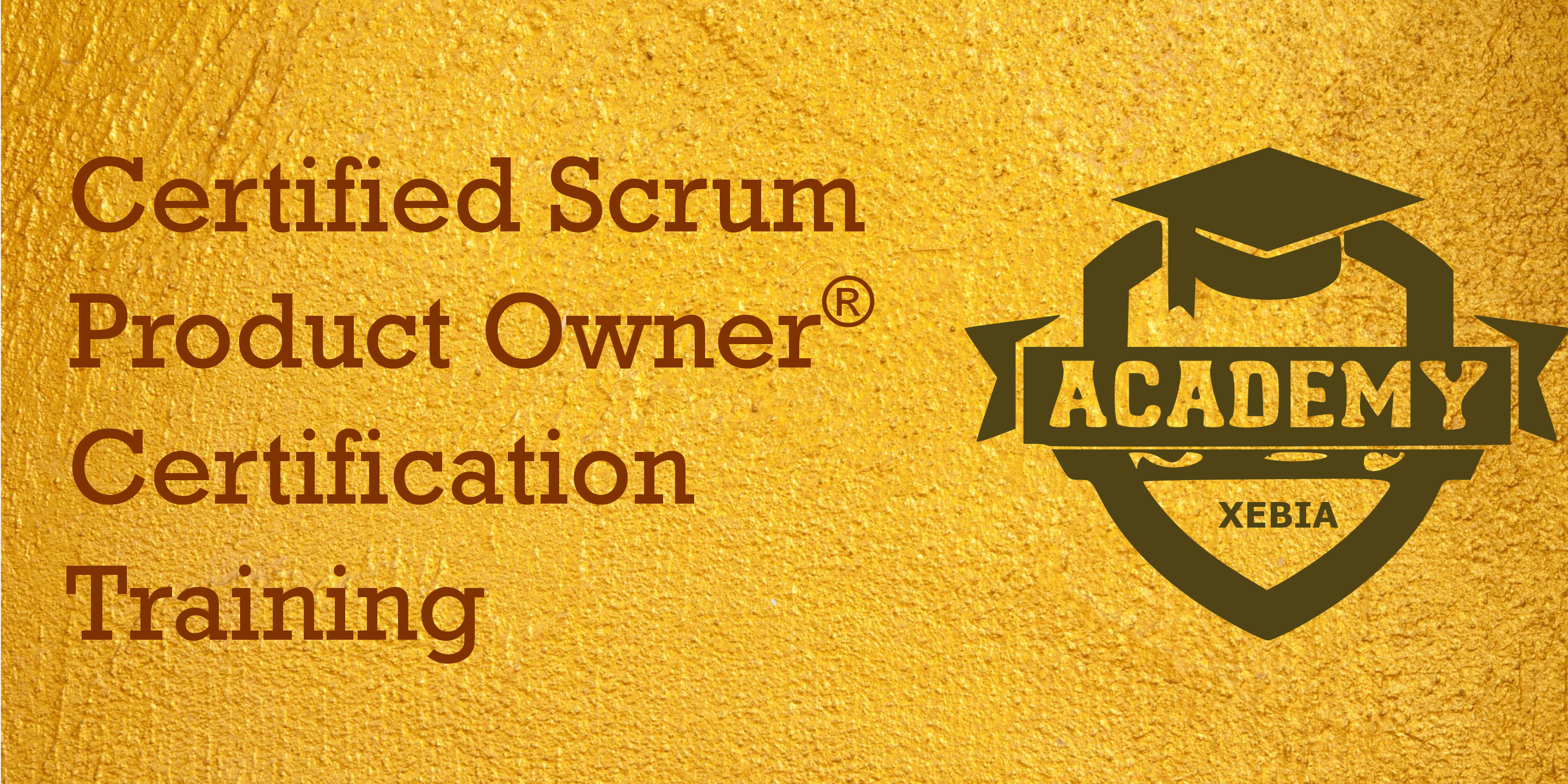 Certified Scrum Product Owner (CSPO) Grand Ra