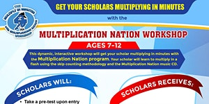 Multiply In Minutes with Multiplication Nation Workshop