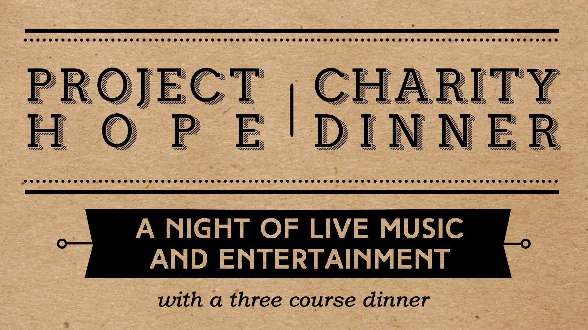 Project Hope Leeds - Charity Dinner