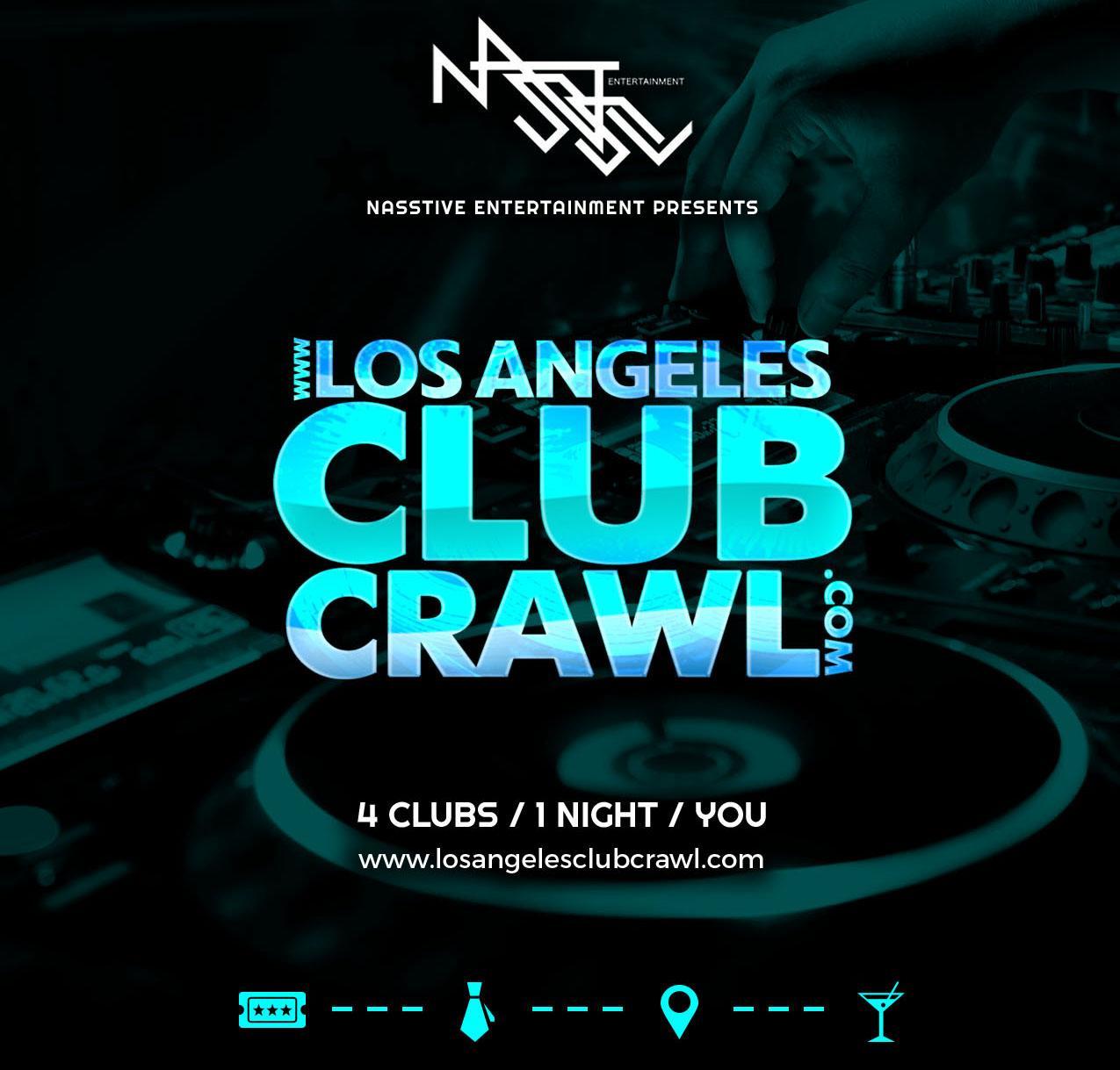 Downtown Los Angeles Bar Crawl / Club Crawl. Downtown Los Angeles Bar Crawl / Club Crawl