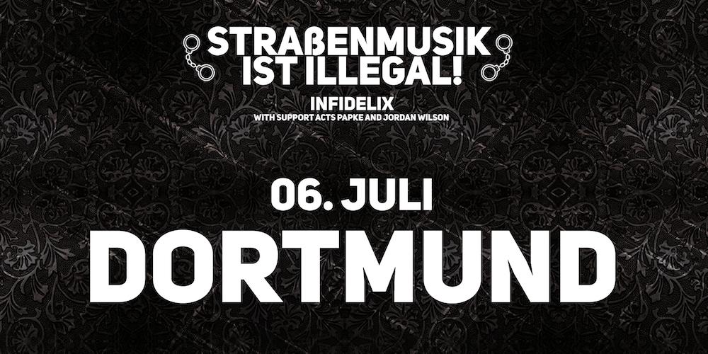 INFIDELIX LIVE IN DORTMUND STREET SHOW Tickets Thu Jul 6 2017