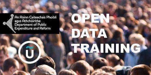 Open Data Training for the Irish Government Open Data Initiative 2019
