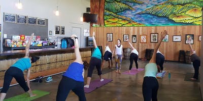 Yoga and Beer at Cooperage