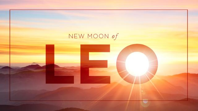New Moon of Leo LIVE with Esther Shvili   San