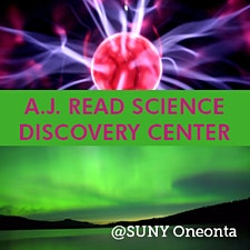A.J. Read Science Discovery Center and SUNY Oneonta Planetarium  logo
