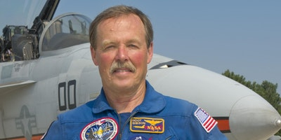 "Skype with Astronaut Robert L. ""Hoot"" Gibson"