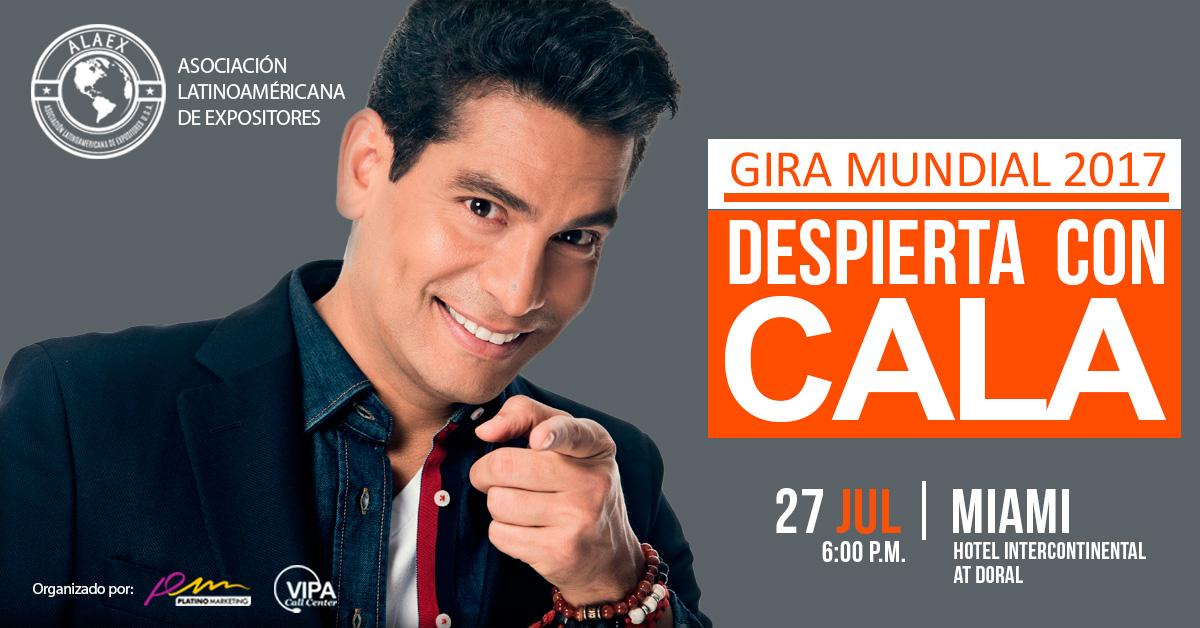 Ismael Cala: Despierta con CALA, Miami, Confe
