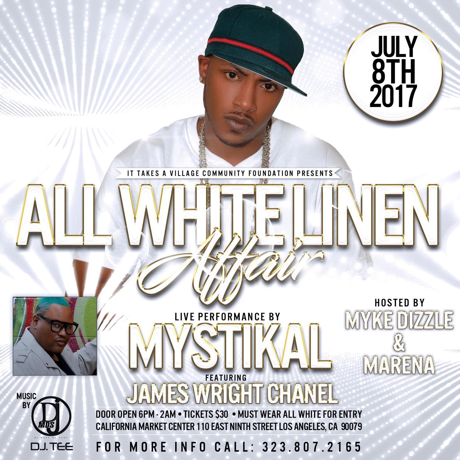 An All White Linen Affair - Live Performance