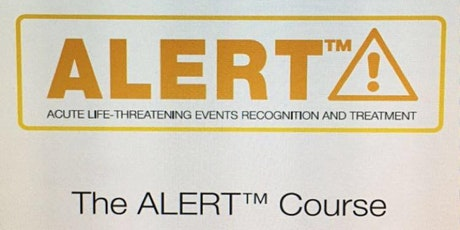 ALERT Course tickets