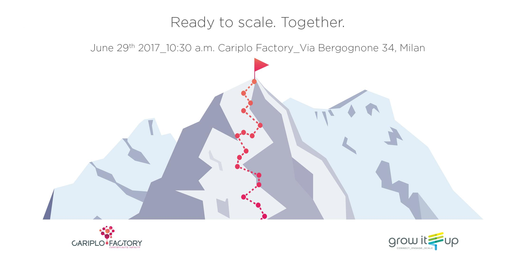 Ready to scale. Together.