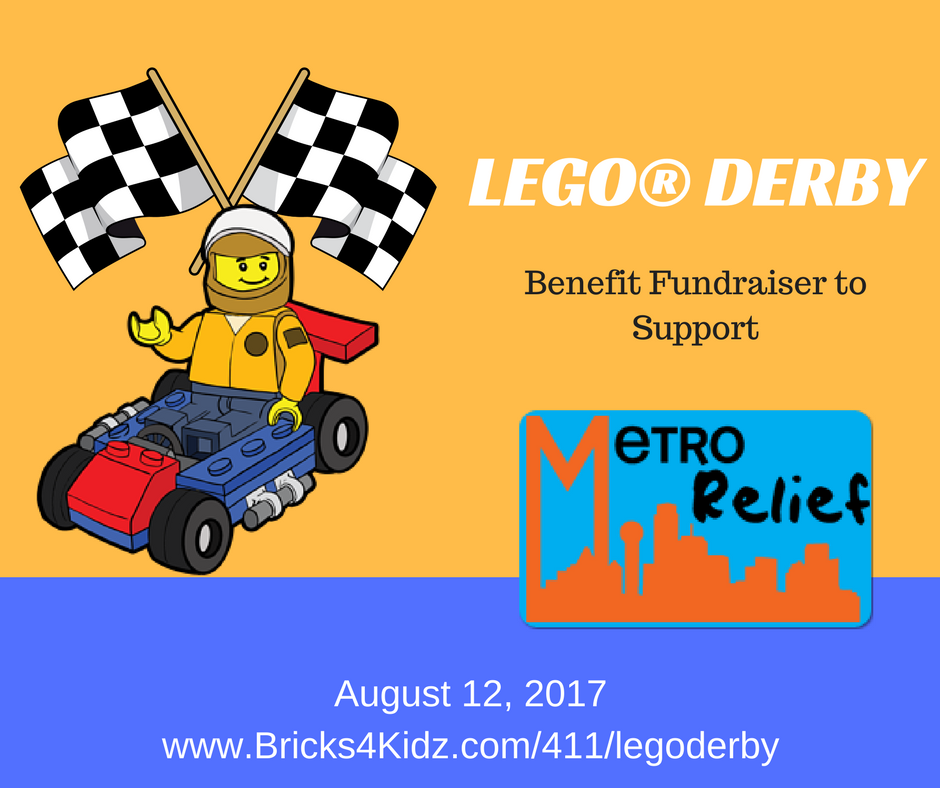 LEGO® Derby Benefit for Metro Relief (tentative Date) photo