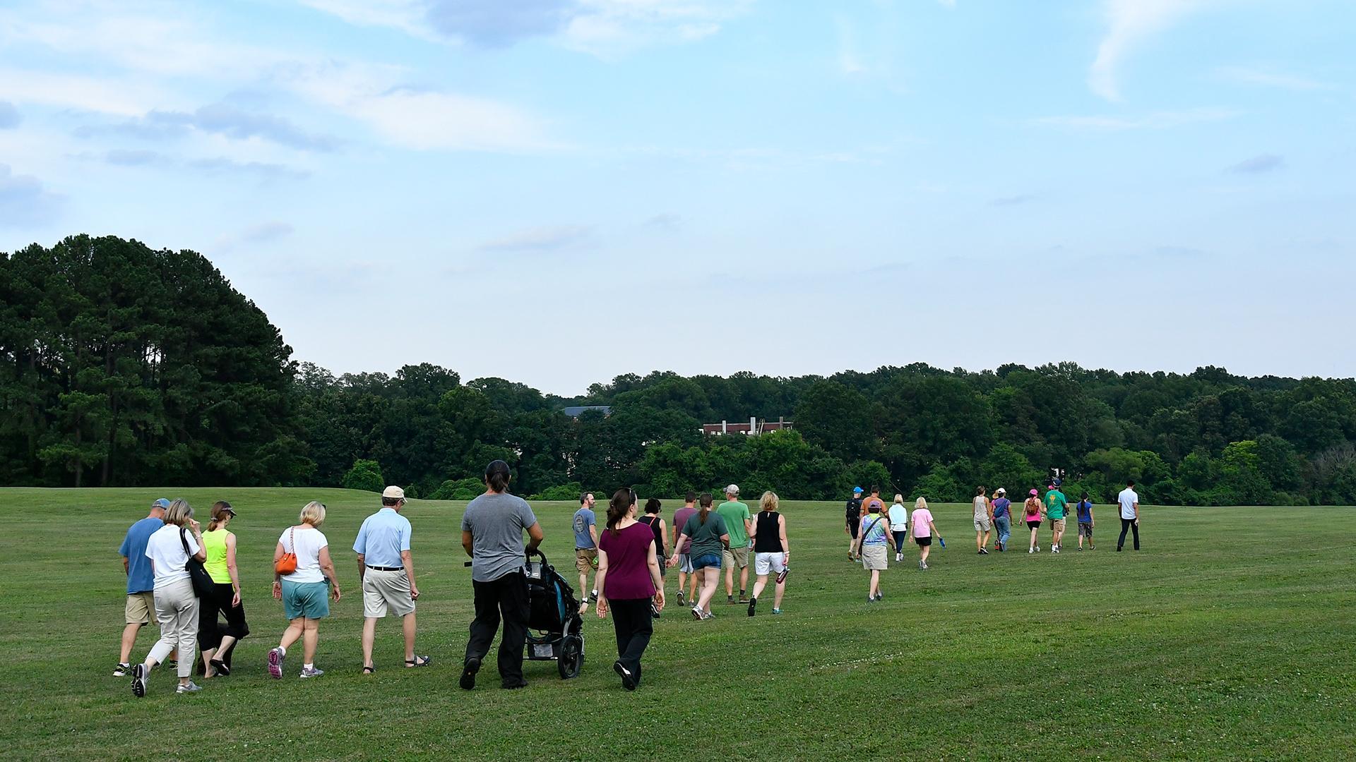 Explore Dorothea Dix Park: Guided Walking Tou