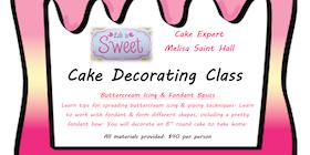 cake decorating class tickets - Cake Decorating Class