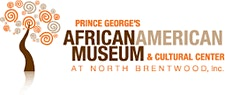 The Prince George's African American Museum and Cultural Center (PGAAMCC) logo