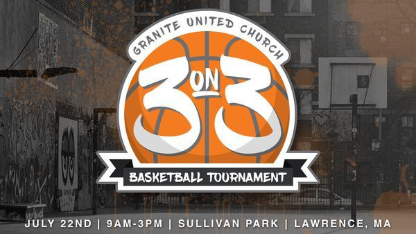 Granite United 4th Annual 3 on 3 Basketball T
