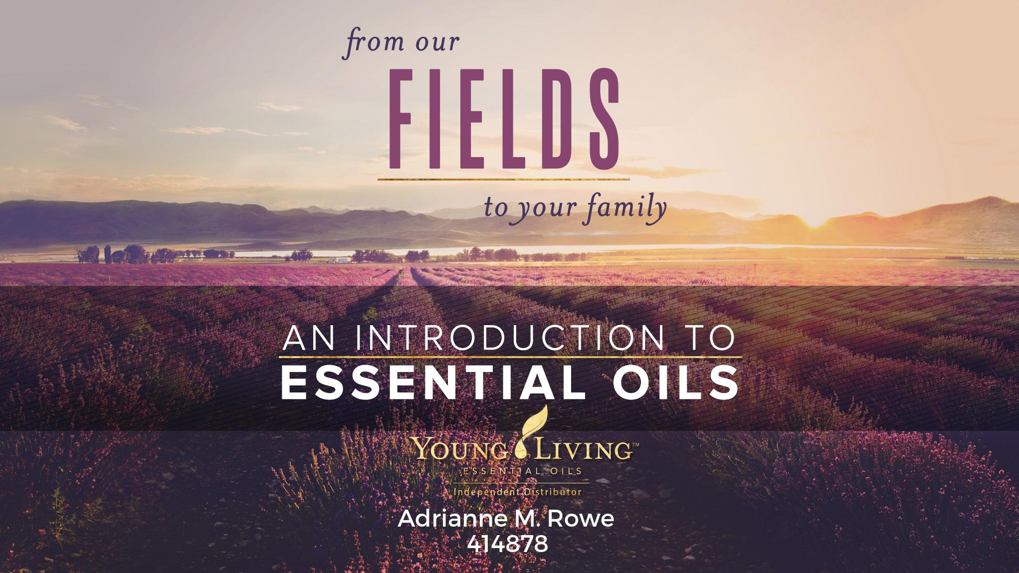Essential Oils 101 - In-person or Virtually