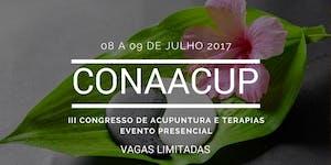 III CONAACUP - Congresso de Acupuntura e Terapias