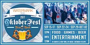 OktoberFest NYC 2017 at Watermark