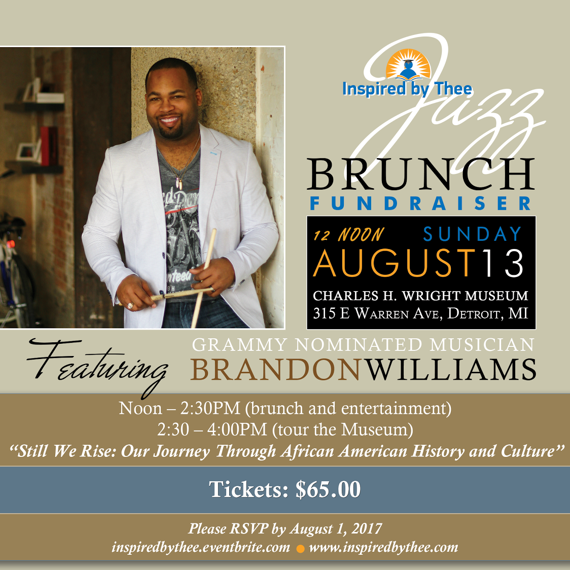 Jazz Brunch with Brandon Williams. Jazz Brunch with Brandon Williams