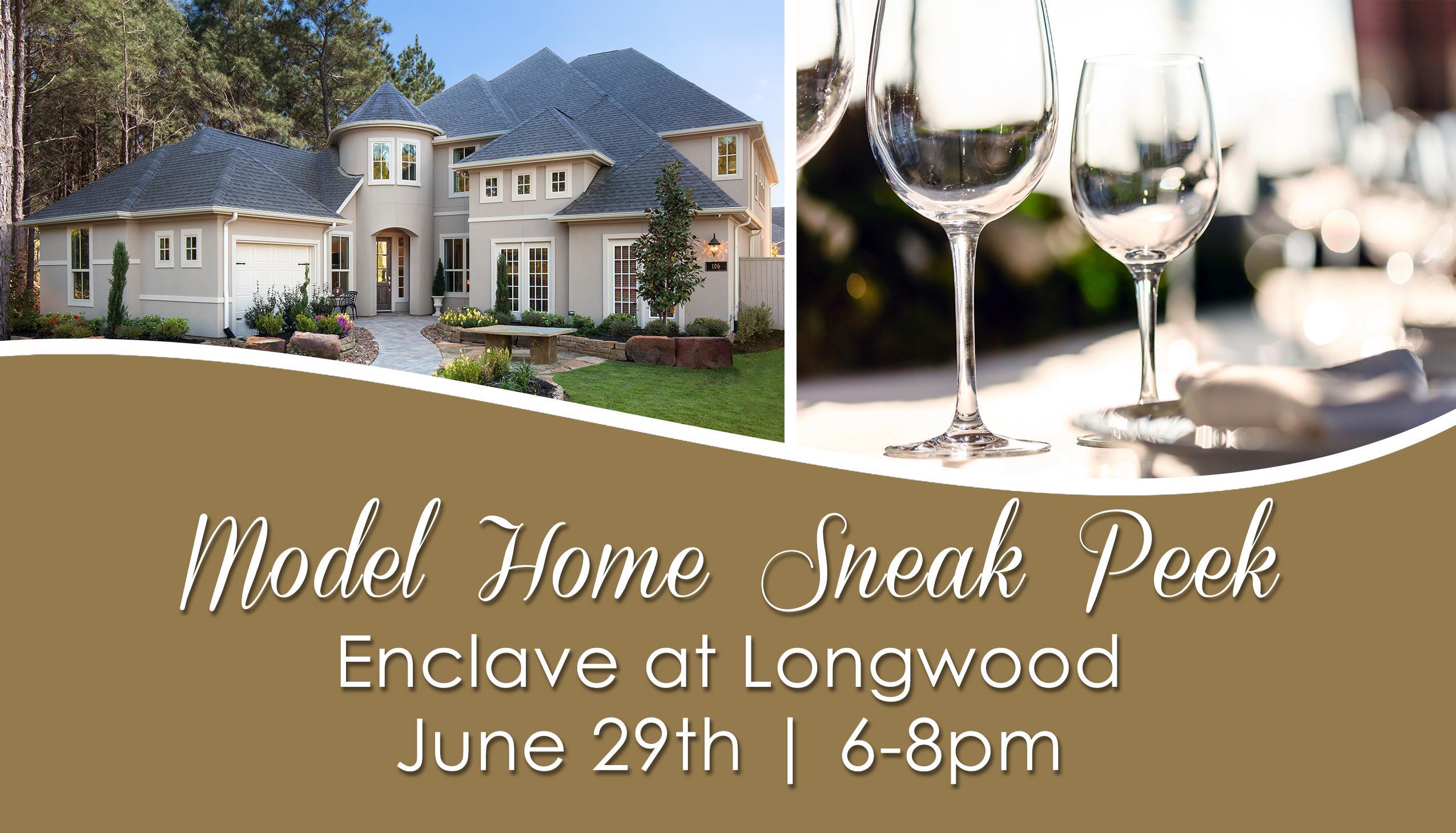 Model Home Sneak Peek in Brand New Community!