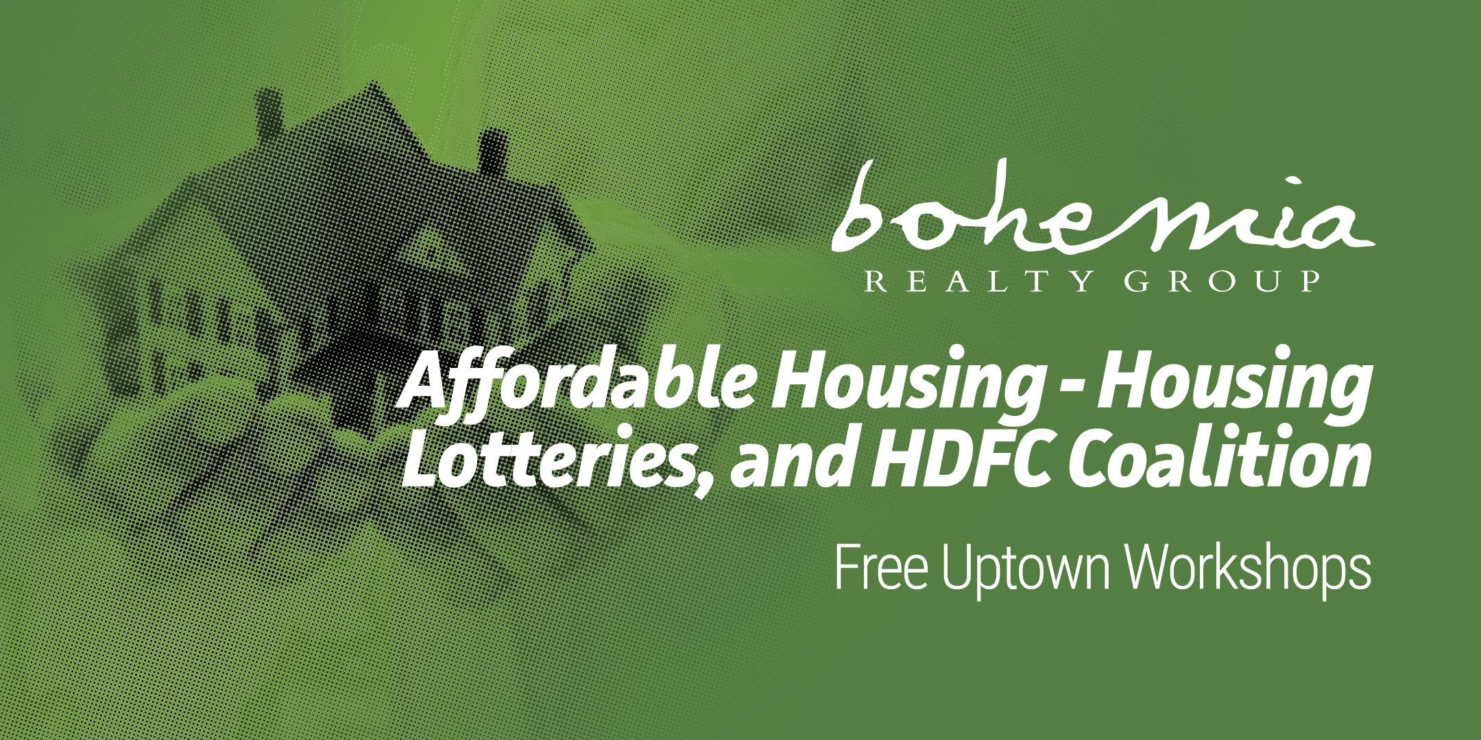 Affordable Housing Community Workshop- 8/23