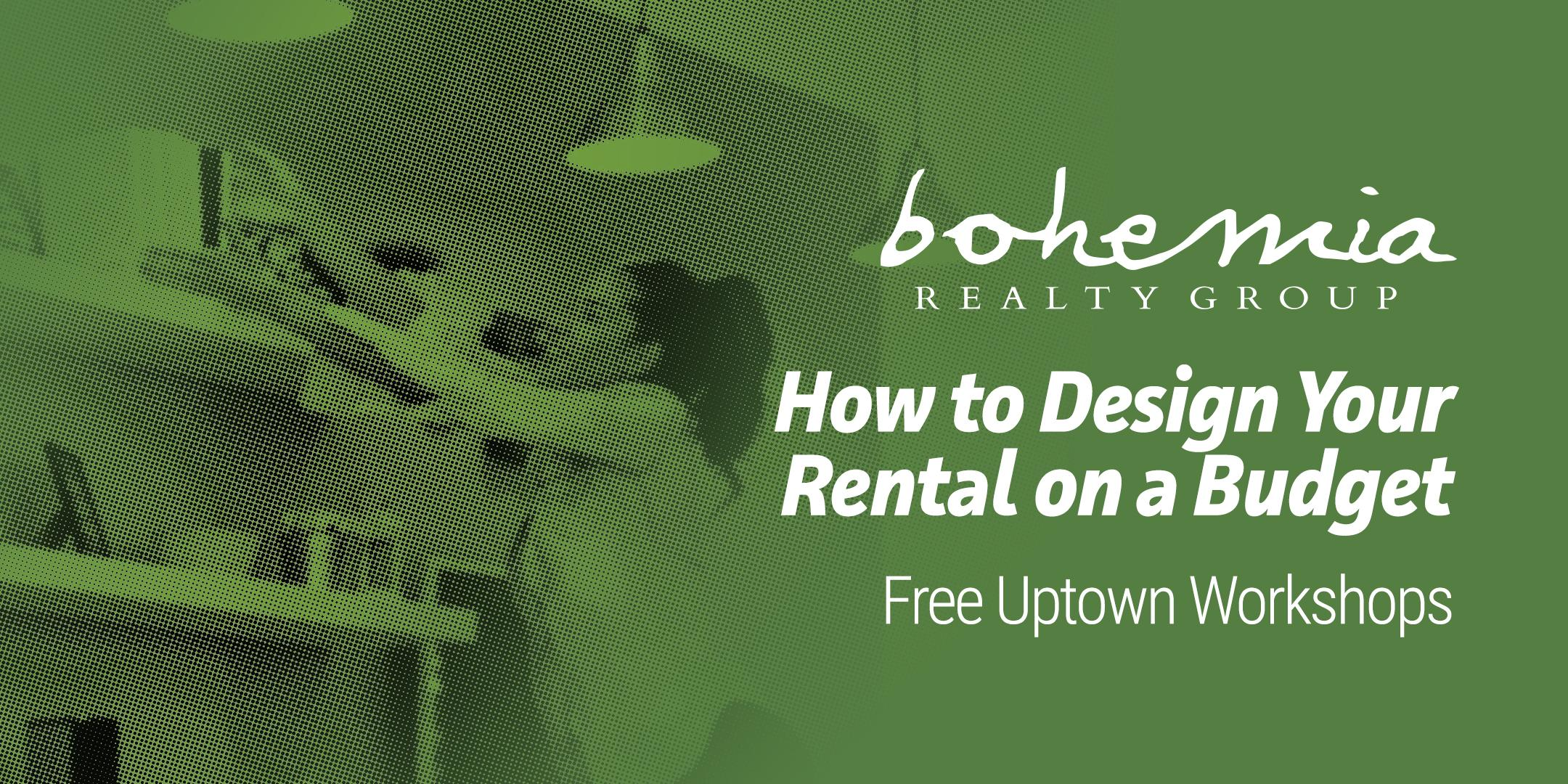 How to Design Your Rental on a Budget