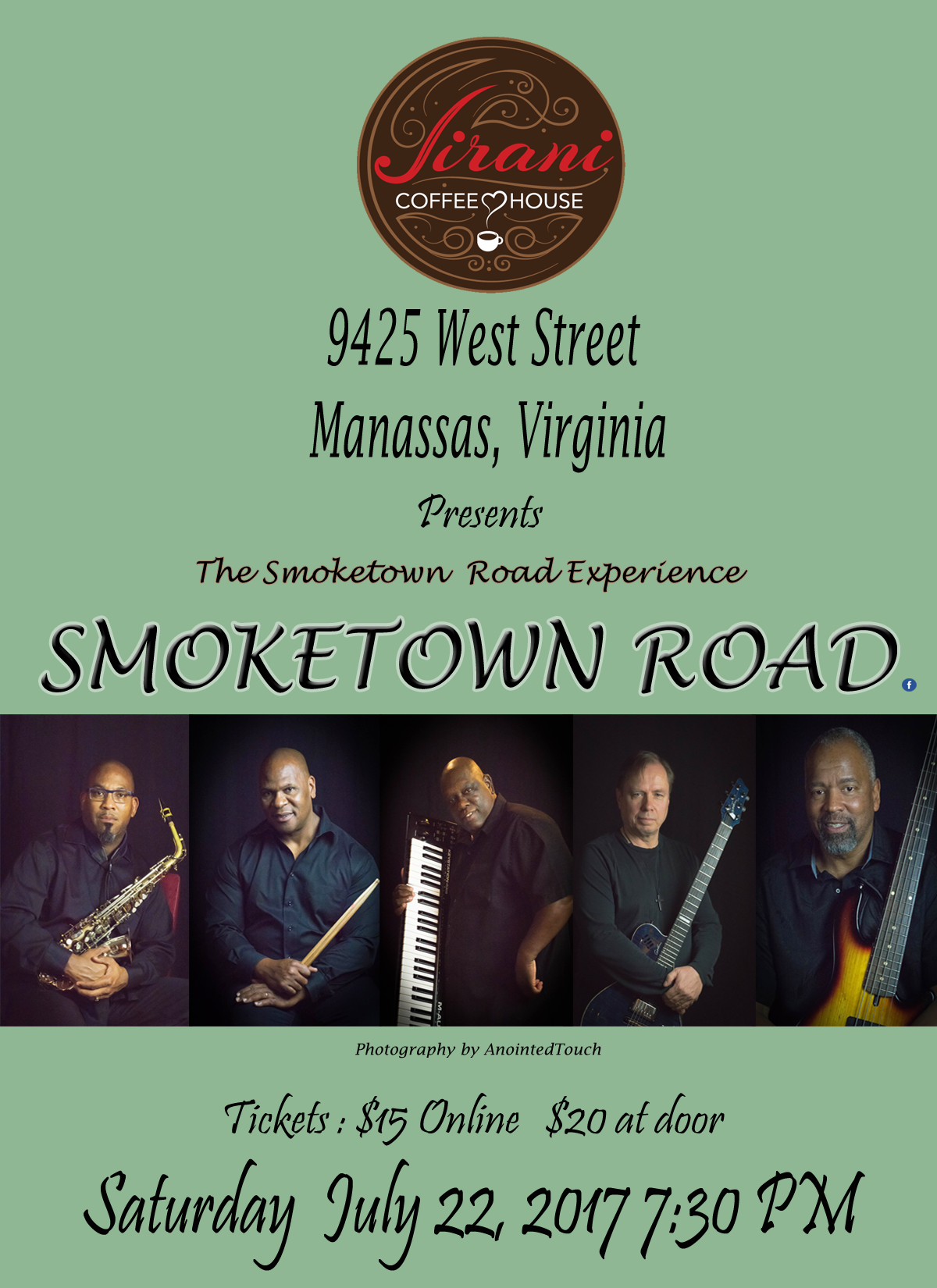 "Jirani Coffeehouse Presents ""The Smoketown Ro"