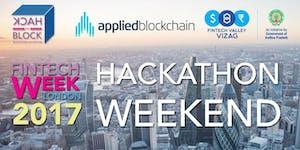 London Fintech Week Hackathon Weekend