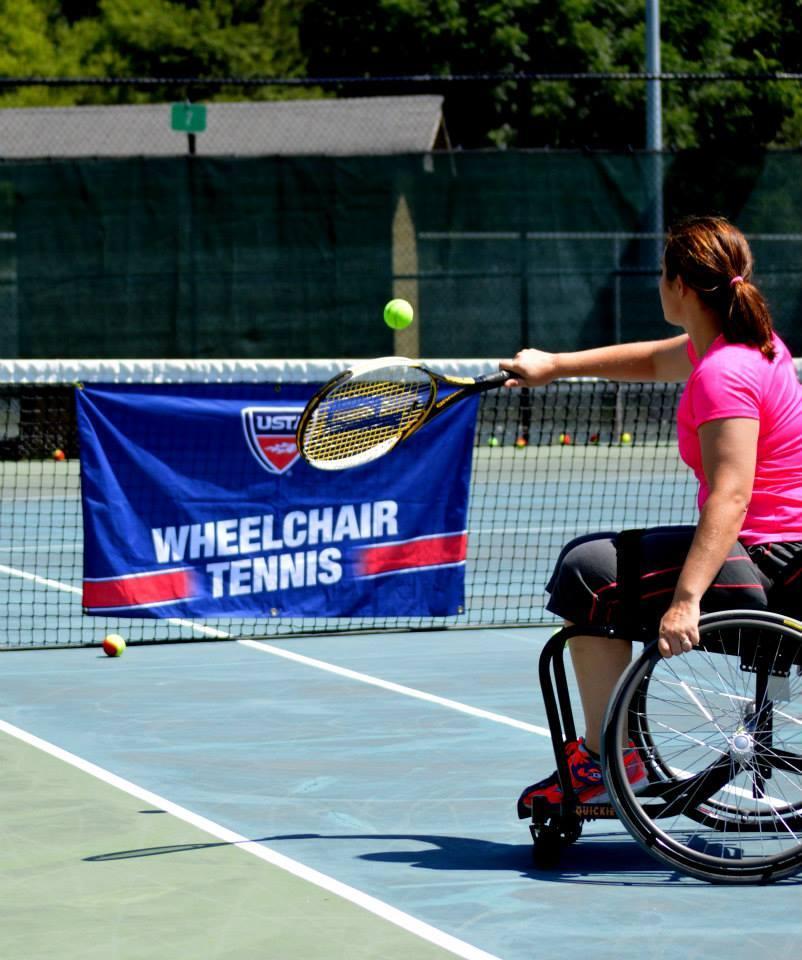 Wheelchair Tennis Training and Clinic - Ashev