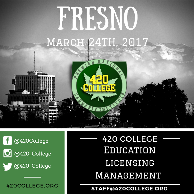 FRESNO, CA - CANNABIS BUSINESS SEMINAR