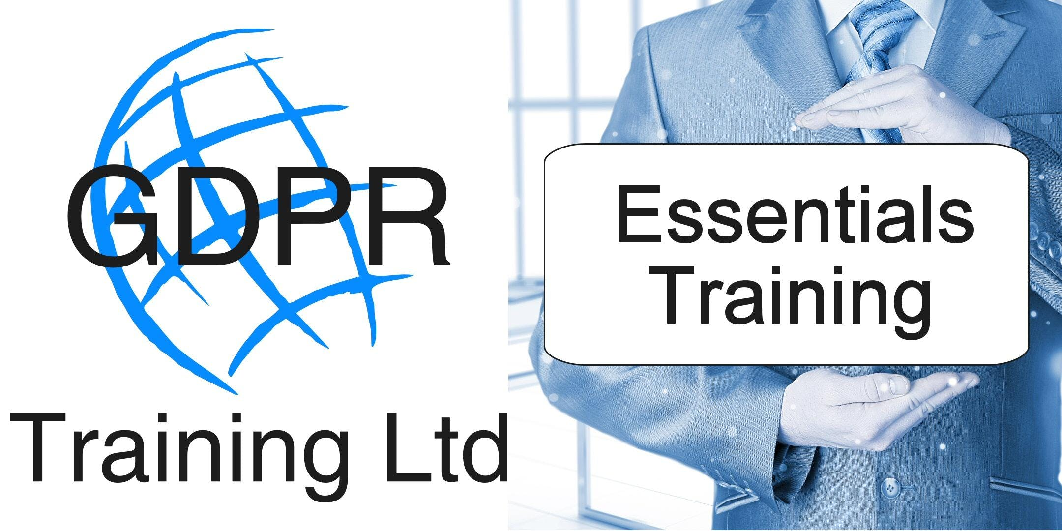 GDPR Essentials Training - A step by step gui