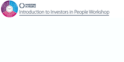 Introduction to Investors in People (Belfast)