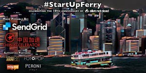 #StartUpFerry 2017 Party by alivenotdead.com