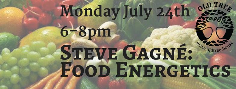 Steve Gagné: Food Energetics