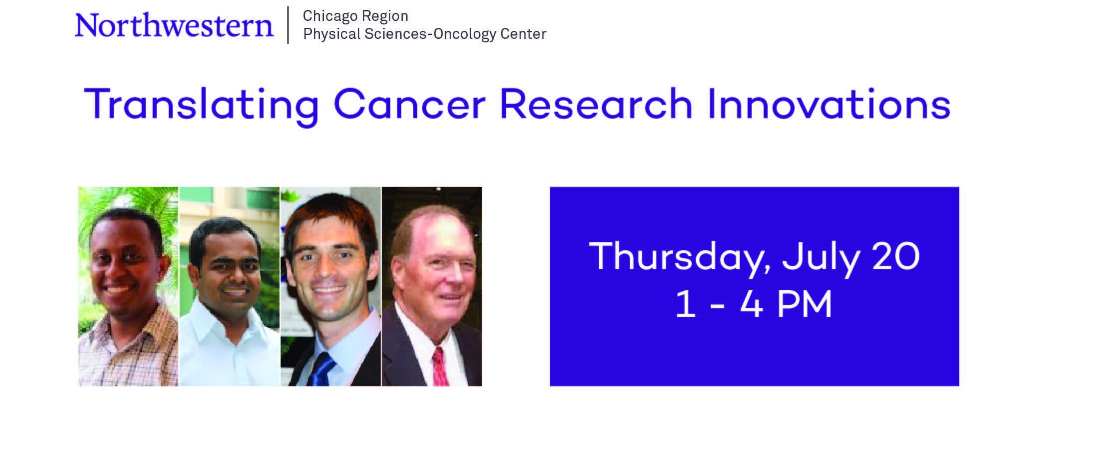 Workshop: Translating Cancer Research Innovat