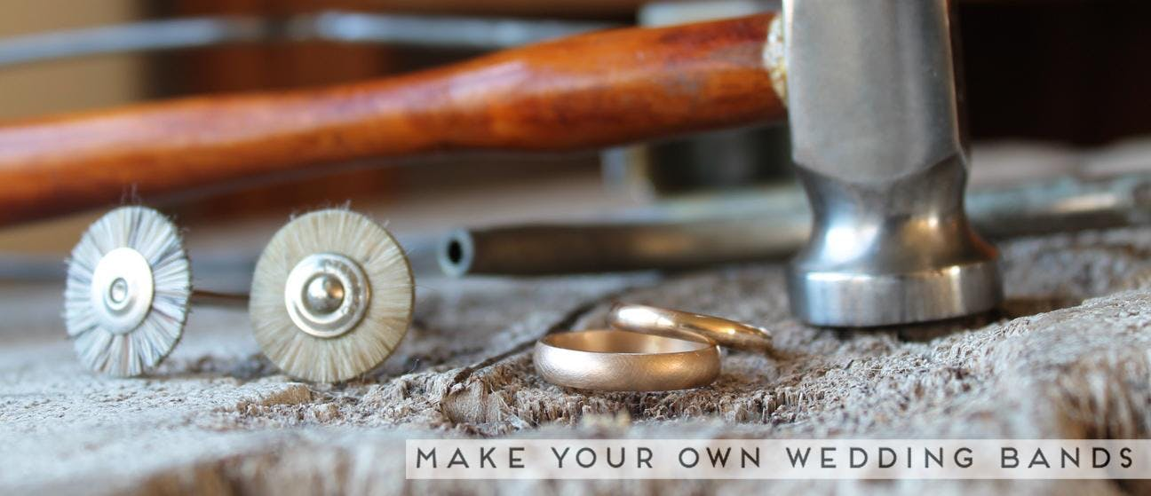 DIY Gold Wedding Band Workshop