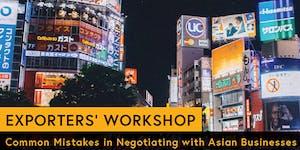 Exporter's Workshop: Common Mistakes in Negotiating...