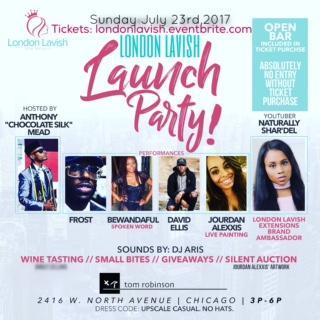 London Lavish Launch Party!