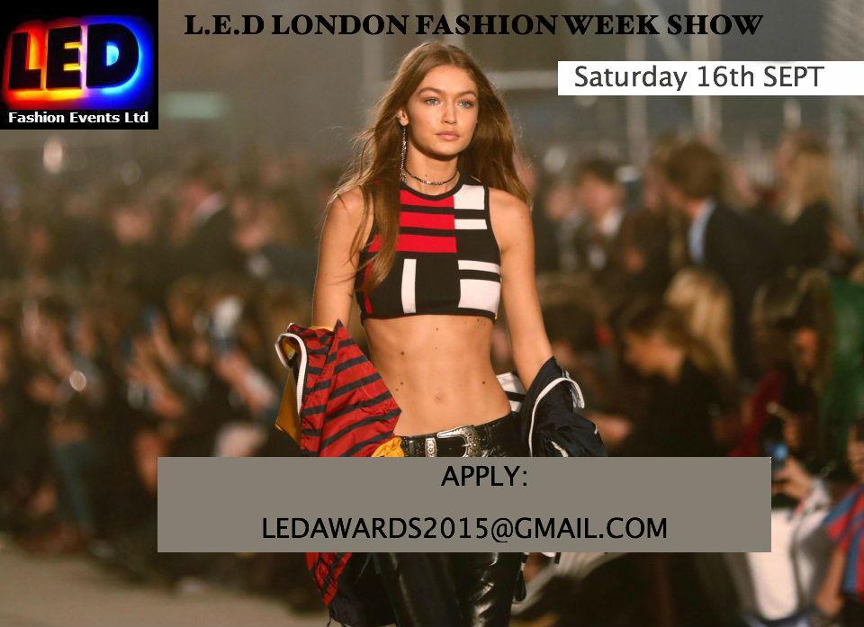 L.E.D MONOCHROME 2017- London fashion week