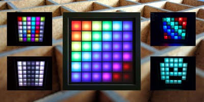Bau eines LED-Mood-Light - 6x6 Matrix - über Internet steuerbar