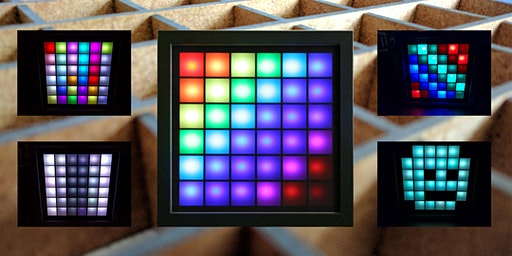 Bau eines LED-Mood-Light - 6x6 Matrix - über Internet steuerbar