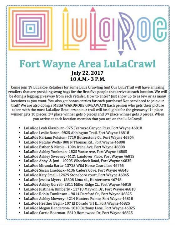 Fort Wayne Area LuLaCrawl