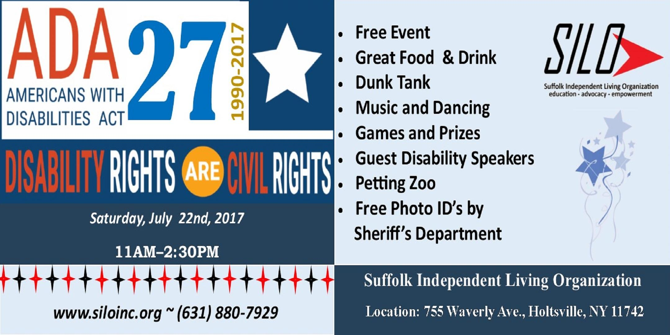 Americans with Disabilities Act 27th Annivers