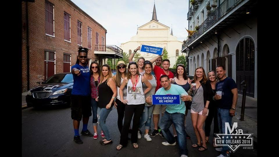 New Orleans Drunk History Tour (7 PM Departure)