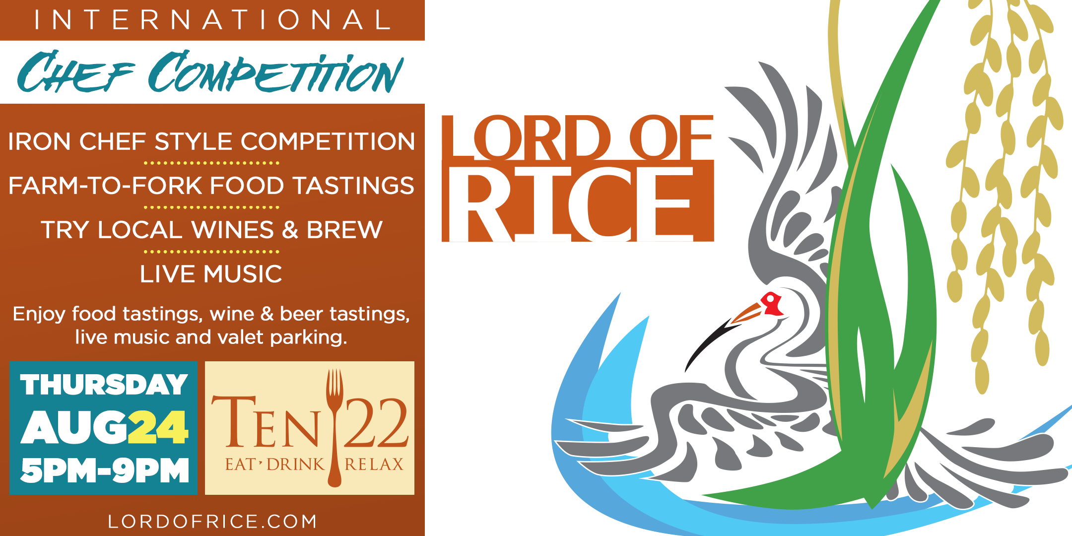 2017 LORD OF RICE Culinary Challenge. 2017 LORD OF RICE Culinary Challenge